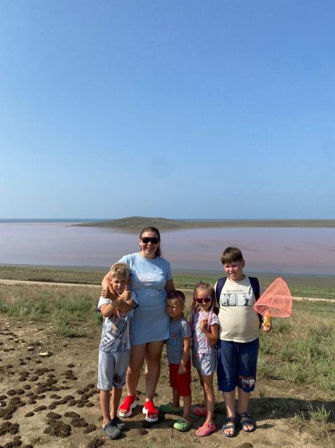 Фото 7000 км за рулём: Жительница Мурашей с четырьмя детьми съездила на машине в Крым