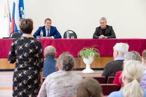 Фото Рахим Азимов с рабочим визитом посетил Фаленский муниципальный округ