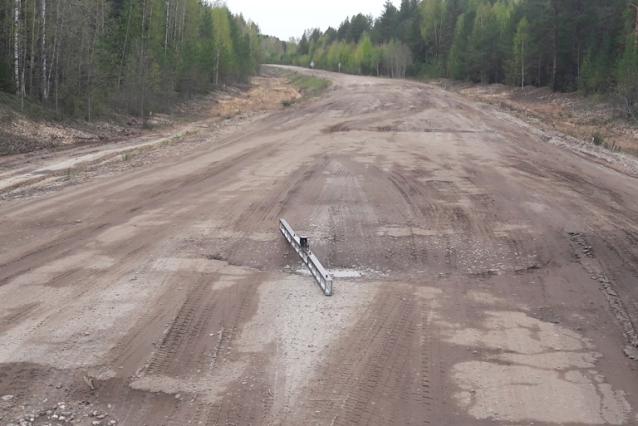 Фото В Коми не смогли найти подрядчика для ремонта дороги на Пермь
