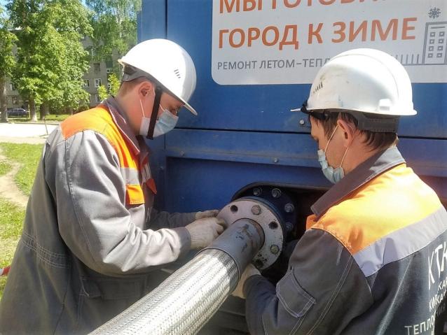 Фото В Кирово-Чепецке 18 мая начнутся гидравлические испытания магистральных теплосетей