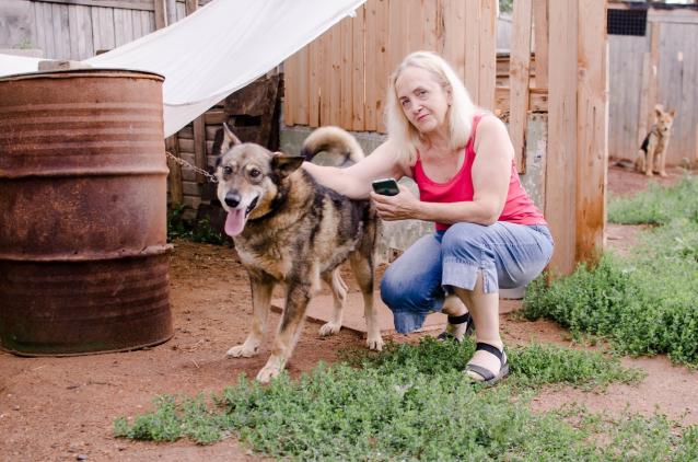 Фото У каждого питомца - своя непростая история: репортаж из приюта для собак под Слободским