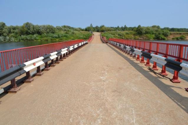 Фото Мост через Чепцу открыли для грузового транспорта