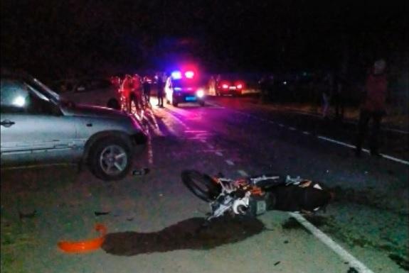 Фото В Кировской области погиб 17-летний водитель мотоцикла