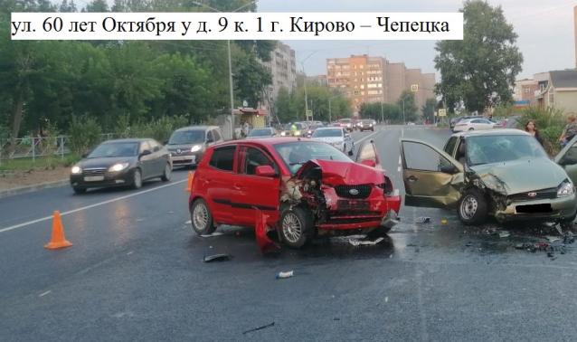 Фото В Кирово-Чепецке в результате ДТП пострадали три человека