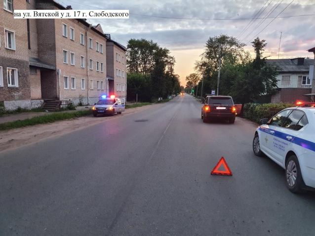 Фото В Слободском водитель внедорожника сбил 6-летнюю девочку