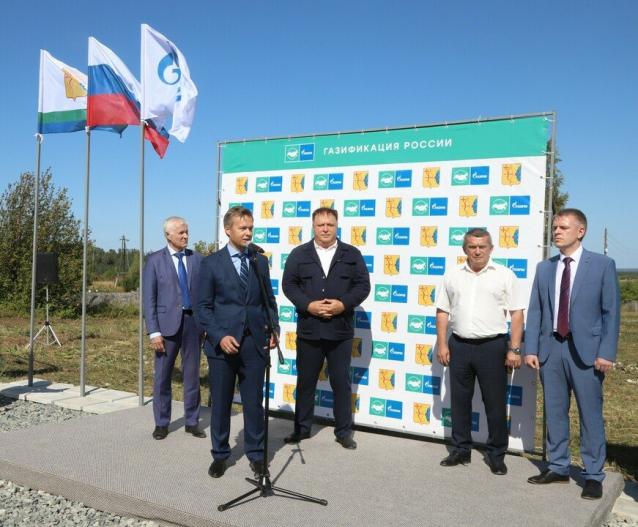 Фото В Кировской области газифицировано село Гоньба