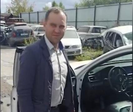 Фото Угнанный в Кирове автомобиль обнаружили в Красноярском крае