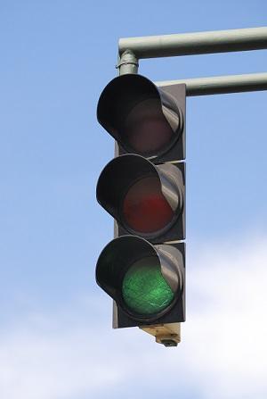 Фото В Ухте 16 сентября отключат светофор на перекрестке Ленина и Интернациональной