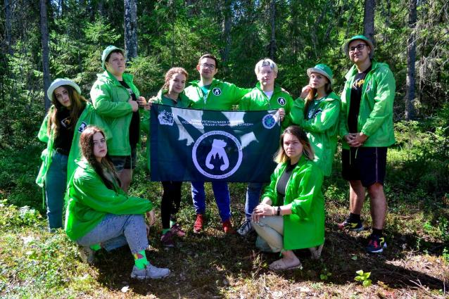 Фото В Коми прошёл первый волонтёрский лагерь в «Койгородском»