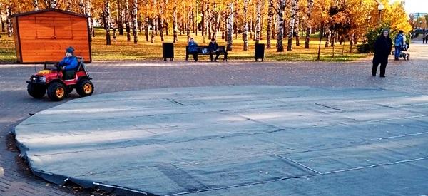 Фото Кировские фонтаны законсервировали к зимнему сезону