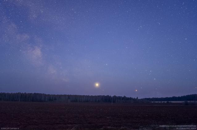 Фото В Кировской области жители могут наблюдать планету Юпитер