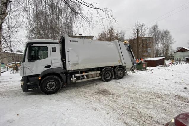 Фото В Кирове проблемы с вывозом отходов продлятся до марта