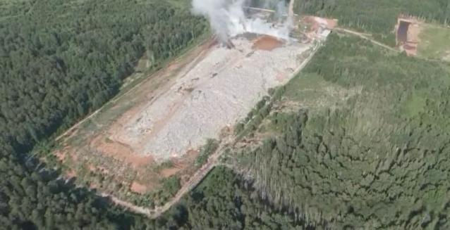 Фото Роспотребнадзор не выявил загрязнения воздуха на полигоне в Лубягино