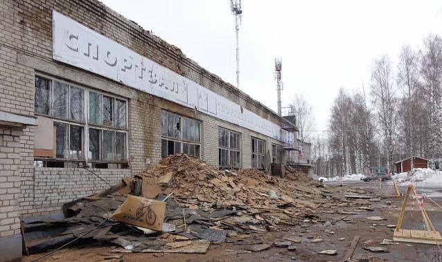 Фото В Кирове зал спорткомплекса «Россия» отремонтируют к концу июня