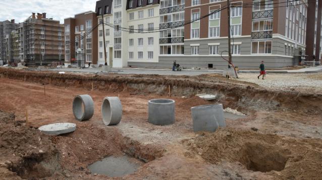 Фото В микрорайоне Урванцево к 15 ноября построят ливневую канализацию