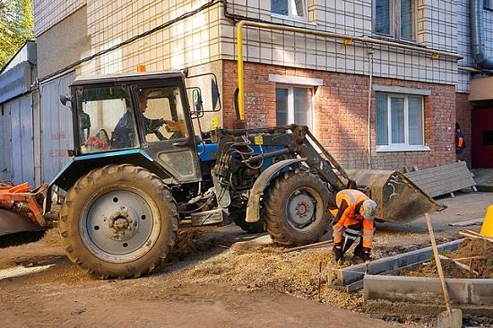 Фото В Сыктывкаре завершается ремонт дворов
