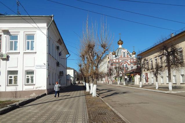 Фото Пешеходная Московская. Благо или проблема