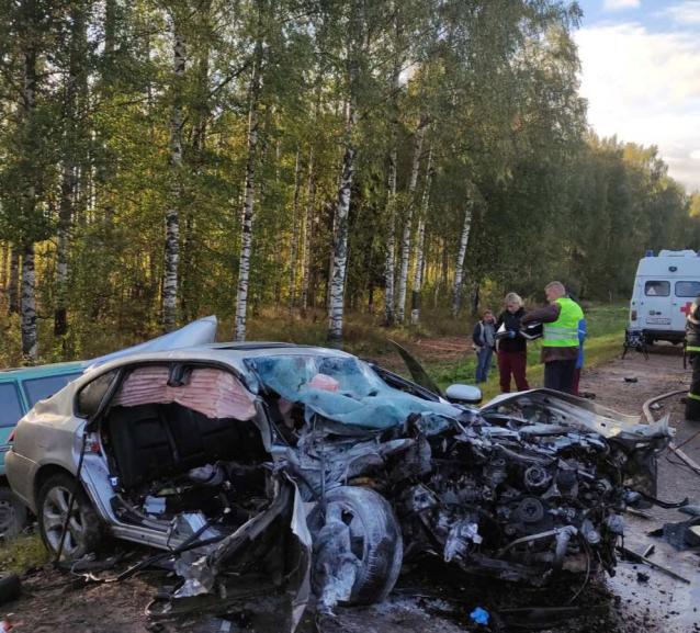 Фото В Юрьянском районе в ДТП с иномарками погибли три человека