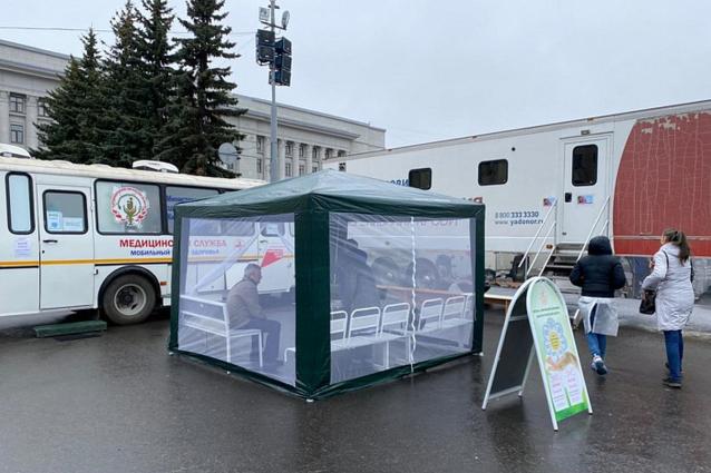 Фото В Кировской области прививочные пункты будут работать в майские праздники