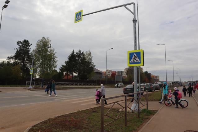 Фото В Кирове у 26 школы установят светофор