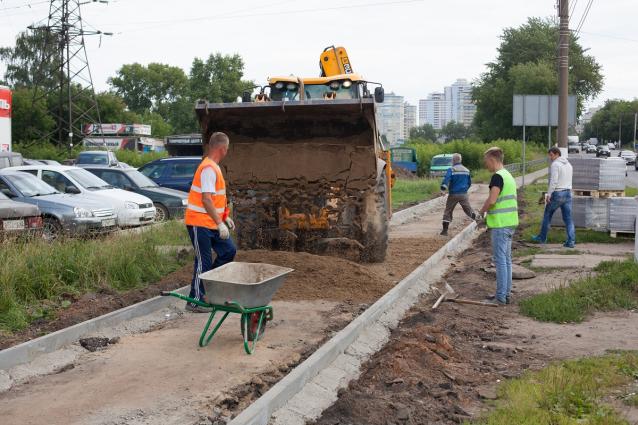 Фото В Кирове на ремонт тротуаров потратят 144 млн рублей