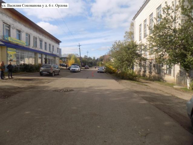 Фото В Орлове на проезжей части сбили 7-летнего мальчика