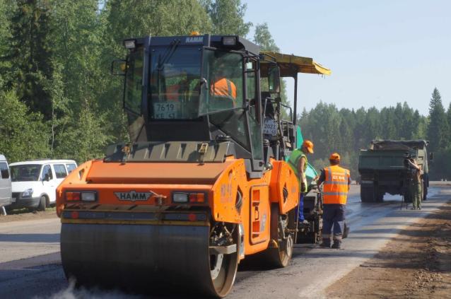 Фото В Кировской области в дорожный фонд поступило 5,5 млрд рублей