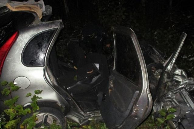 Фото В Коми водитель «Лады» погиб на месте в результате ДТП на трассе «Вятка»