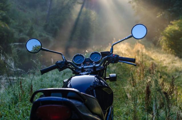 Фото В Коми на мотоцикле разбился мужчина без водительских прав