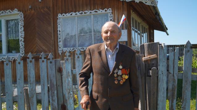 Фото «Нужно своим «котелком» варить». Интервью с единственным в Опарино ветераном Великой Отечественной войны
