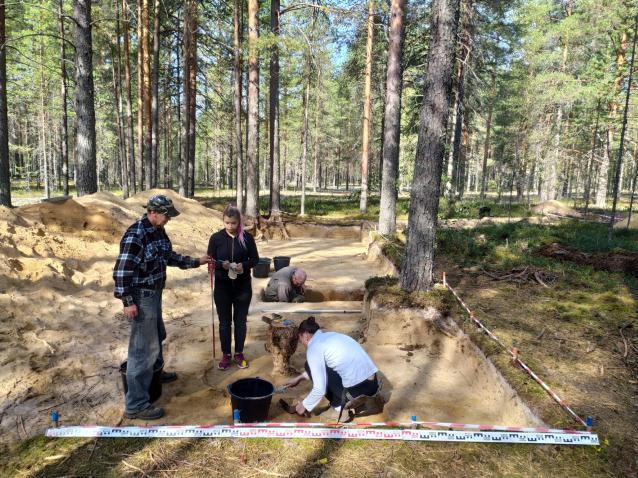 Фото Археологи нашли на территории Коми следы пребывания древних охотников