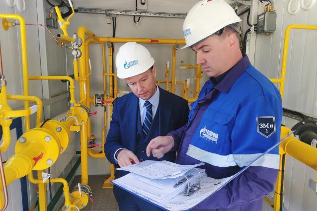 Фото В Слободском районе Кировской области построен межпоселковый газопровод