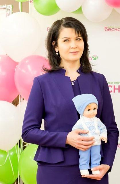 Фото Директор кировской фабрики «Весна» Ольга Доротюк - о современных детях и создании игрушек