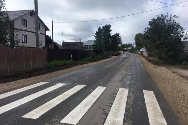 Фото Участок дороги Радужный - Лубягино приняли после ремонта