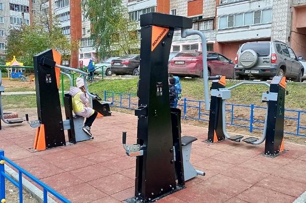 Фото В Кирове два двора завершили благоустройство после победы в городском конкурсе