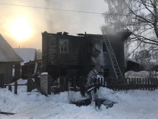 Фото Администрация Кирова окажет помощь пострадавшим при пожаре