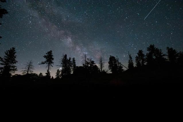 Фото Завтра в Кировской области жители смогут увидеть крупный звездопад