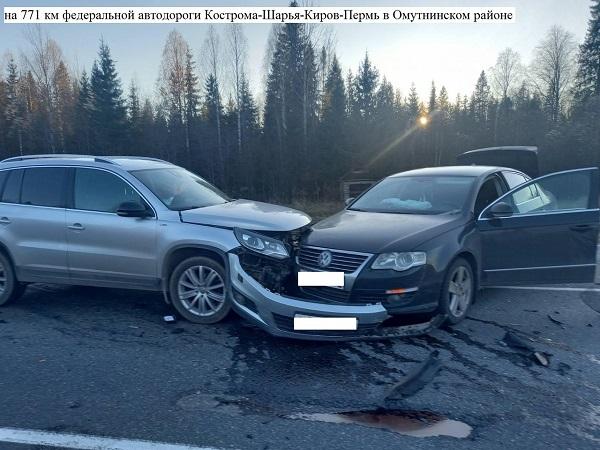 Фото В Омутнинском районе в ДТП с иномарками пострадали два человека