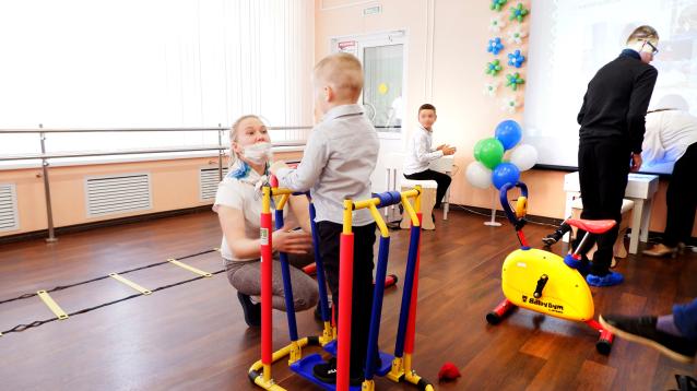 Фото В Эжве открылся микрореабилитационный центр для детей с особыми возможностями здоровья