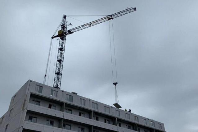 Фото В Кирове возобновлено строительство проблемного дома на Преображенской, 95