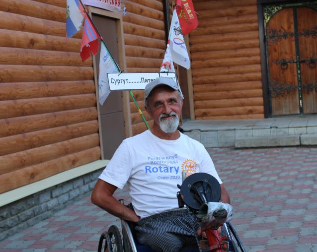 Фото «На хендбайке, а не пёхом в дальний путь собрался Лёха...» Интервью с инвалидом, который доехал от Сургута до Кирова