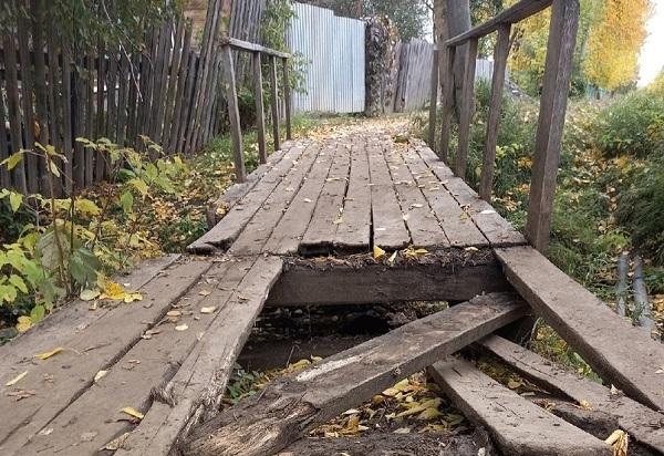Фото Администрация Зуевки сообщила о ремонте тротуара, к которому даже не приступала