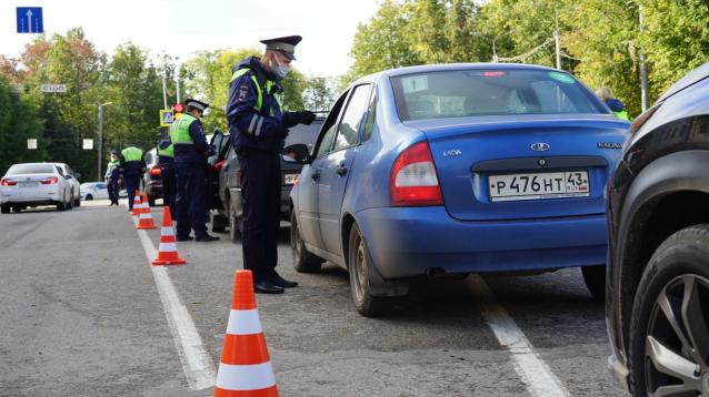 Фото В выходные в двух районах Кирова водителей проверят на состояние опьянения