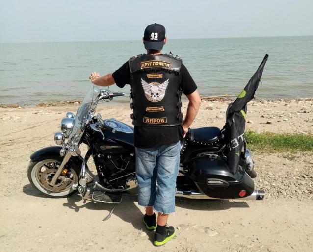 Фото «На бензин потратил 15 тысяч рублей». Байкер из Кирова рассказал о поездке на мотоцикле до Азовского моря