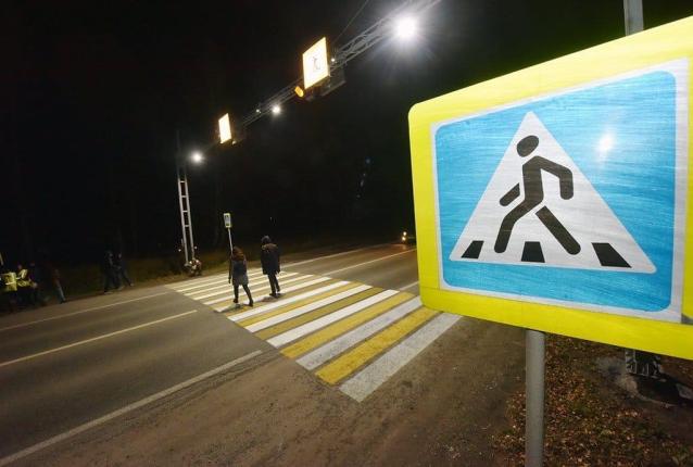 Фото Эксперт оценил новые проекционные пешеходные переходы в Кирове