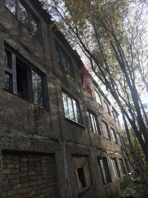 Фото В Ухте на пожаре в жилом доме погиб мужчина