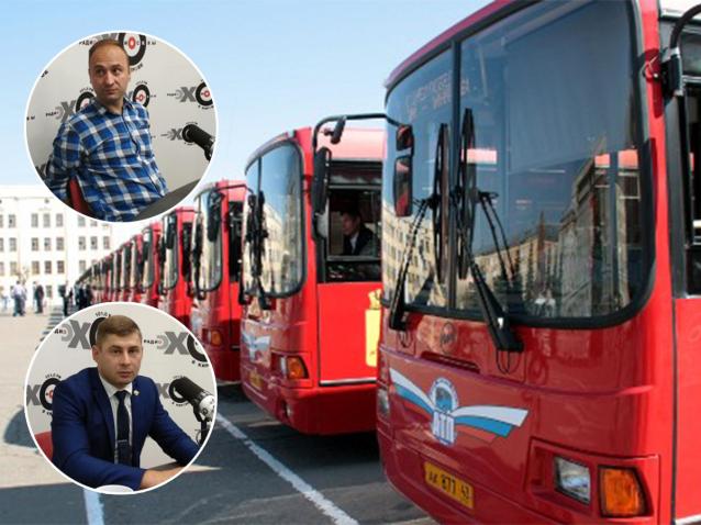 Фото Нужно ли красить в один цвет автобусы в Кирове? Мнения