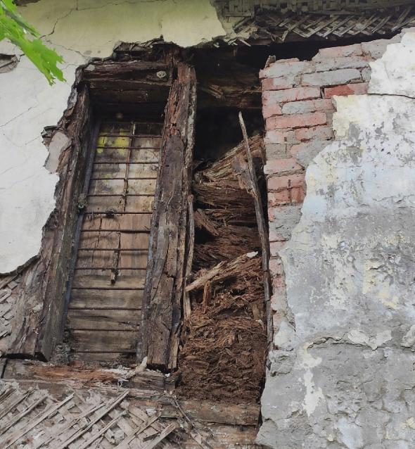 Фото В Кирове рухнула стена дома, где жил архитектор Чарушин