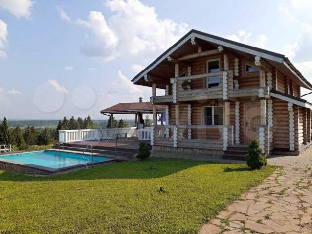 Фото В Кировской области самый дорогой загородный дом продают за 52 млн рублей