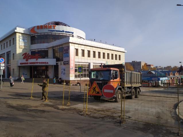 Фото В Кирове движение транспорта по улице Свободы откроют 7 октября